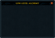 Low level alch interface