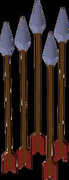 Dragonbane arrow detail