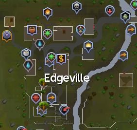 Edgevillen kartta.