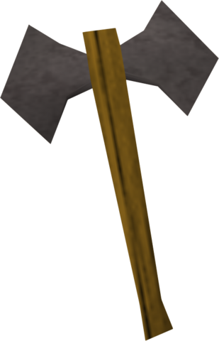 File:Iron battleaxe old.png