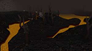 Lava Maze entrance old