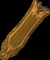 Golden warpriest of Zamorak cape detail