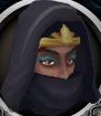 Lady Keli chathead (hooded)