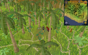 Scan clue Kharazi Jungle north-west of eastern rare trees map icon