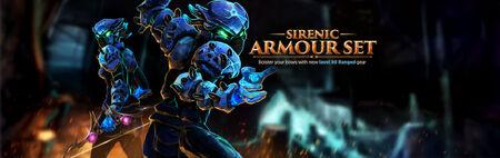Sirenic Armour banner