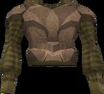 Dromoleather body detail