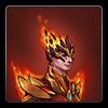 Flameheart armour icon (female)