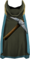 Hooded mining cape (t) detail