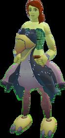 Terrorbird mount (black) equipped