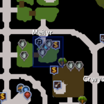 Water source (Meilyr) location