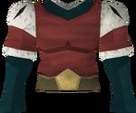 Royal shirt detail