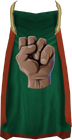 Strength cape (t) detail
