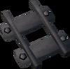 Steel track 60% detail
