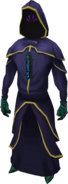 Zarosian shadow outfit equipped