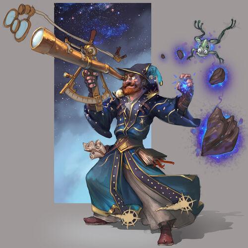 Wizard Chambers concept art