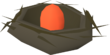 Bird's nest (red egg) detail