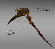 Yak scythe concept art