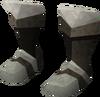 Miner boots (steel) detail
