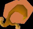 Fat snail meat detail