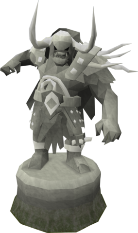 File:Fine Bandos statue (God Statues).png