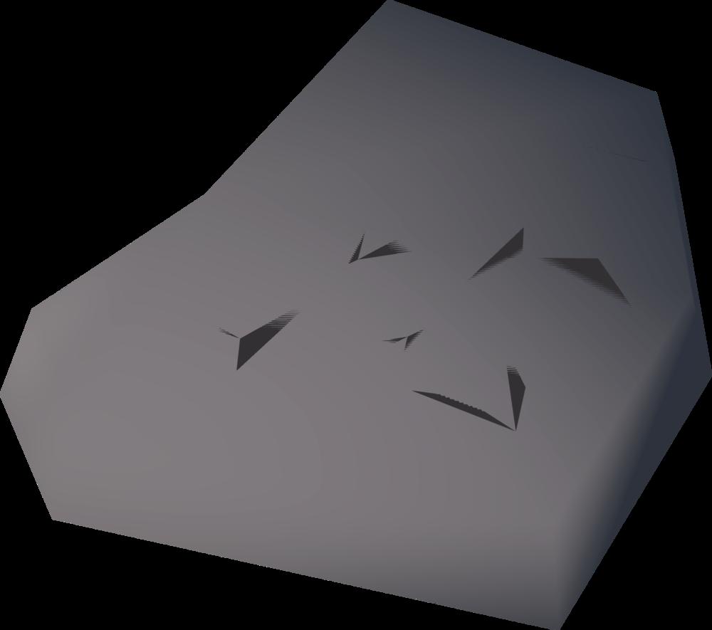 Stone-plaque detail