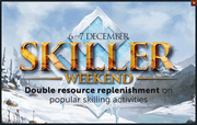2014 Christmas Skiller Weekend popup