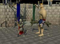 Giant champion fight
