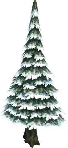 File:Evergreen tree (snow).png