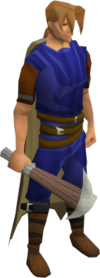 Pickaxe (class 2) equipped