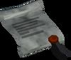 Search warrant detail