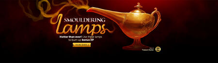 Smouldering lamps head banner 2