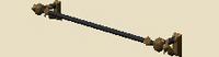Filigreed banner frame