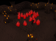 The Firemaker's Curse first room