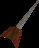 Steel dart detail
