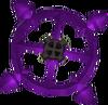 Ancient emblem detail