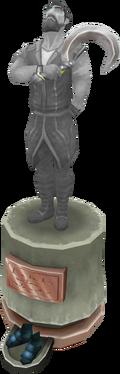 Kael Forshaw statue