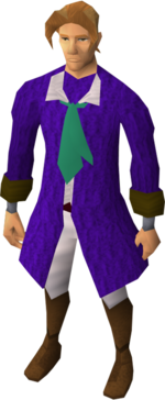 Prince outfit set equipped