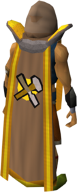 Retro crafting cape (t) equipped