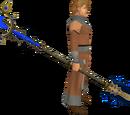 Saradomin Tuska spear