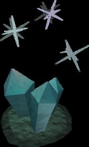 Sparkling crystal
