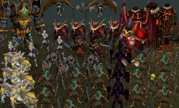 Wilderness Godwars dungeon