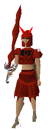 Equipped Dragon Med Helm T
