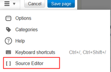 Sourceeditor