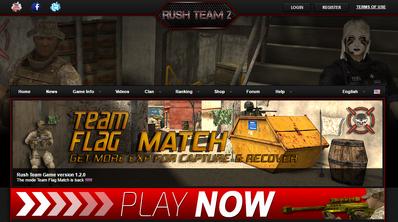 Rush team platform