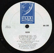 Rush, Moon MN 100 Label