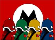 Mahzii Flag with Mahzii Troops