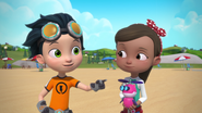 Rusty Rivets - Rusty and Ruby - Sand Castle Hassle 1