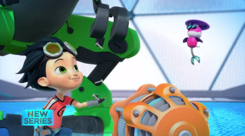 Image Rusty Rivets Botasaur Spin Master Nickelodeon 3