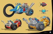 Rusty Rivets Spin Master Nickelodeon Vehicle Development Sketches