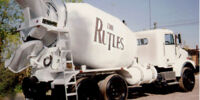 Rutle Cement Mixers